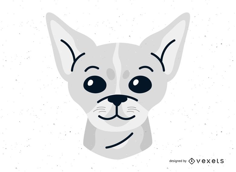 Vector de perro chihuahua