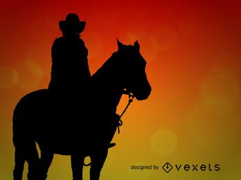 Vector de vaquero