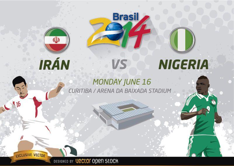 Irã vs. Nigéria Brasil 2014