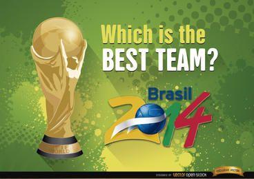 Brasilien 2014 World Cup Beste Mannschaft