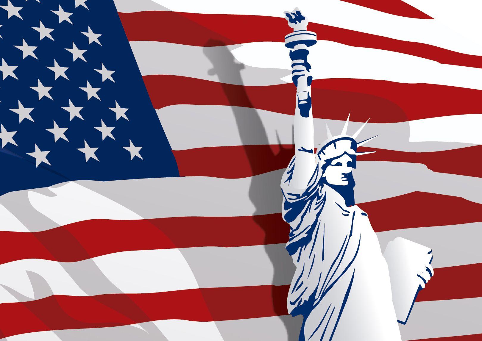 Día de la Independencia con Liberty Satue