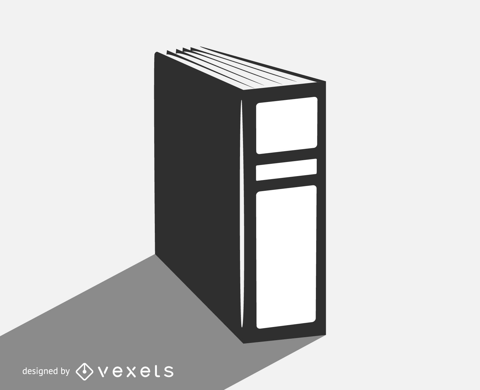 Vector file folder