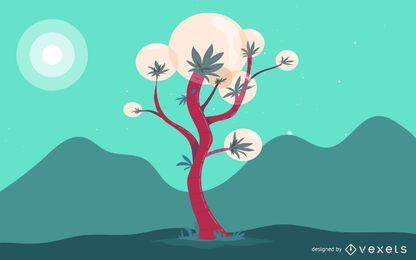 Flor de outros planetas