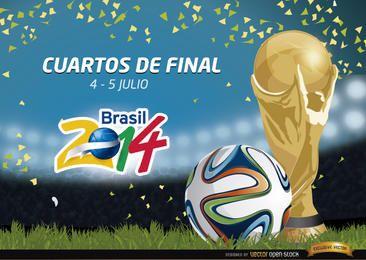 Promoção Cuartos de Final Brasil 2014