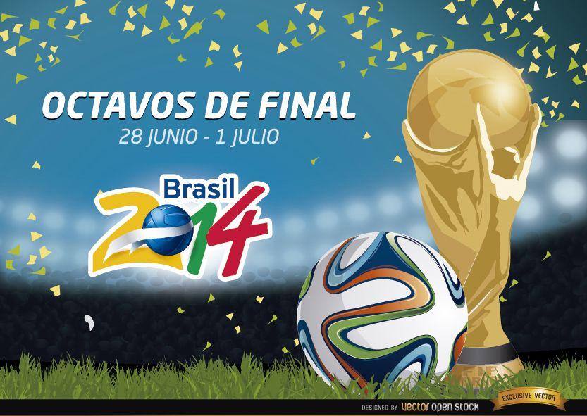 Octavos de final Brasil 2014 Promo