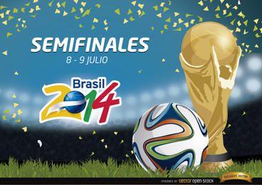 Semifinales Brasil 2014 Promo