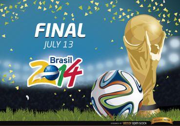 Promoción Final Brasil 2014
