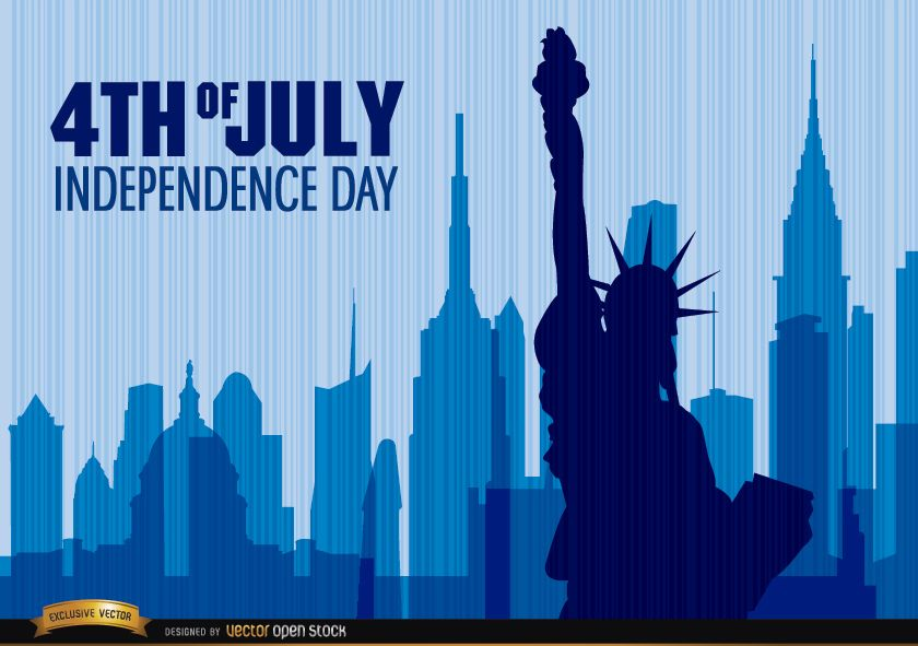 Independence Day Statue of Liberty