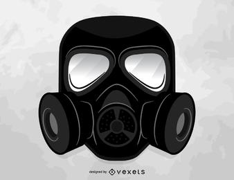 Gasmaske Vektor