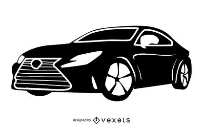 Lexus RC F Coche Toyota de lujo