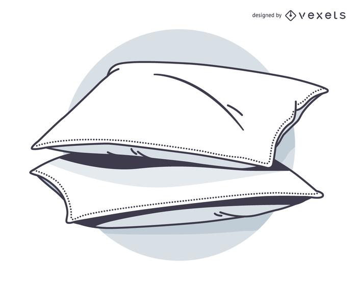 Haz un boceto de la almohada y vamos a dormir