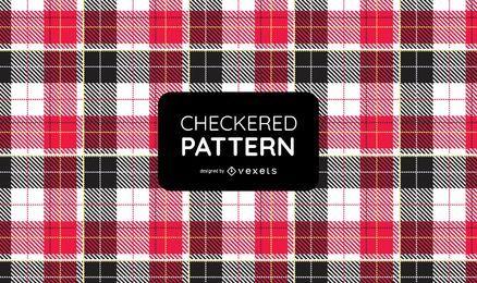 Gran pedazo de patrón de costura textil