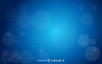 Blauer glühender Halbton Dot Business Background