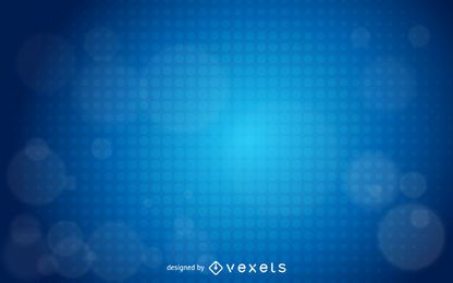 Blue Glowing Halftone Dot Business Background