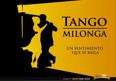 Pará bailando Tango Milonga fondo