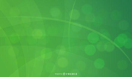 Fundo de curvas abstratas e linhas espirais