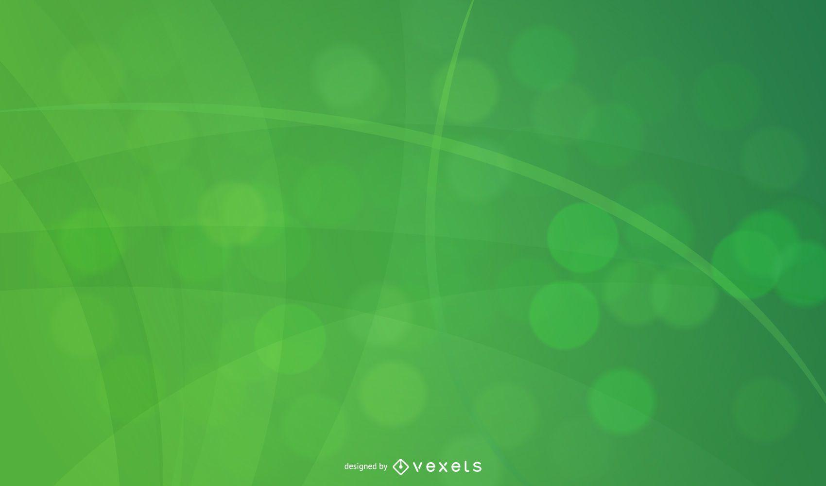 Abstrakte Kurven & Spirallinien Hintergrund