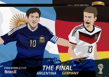 Final Argentina Alemania Copa Mundial de la FIFA