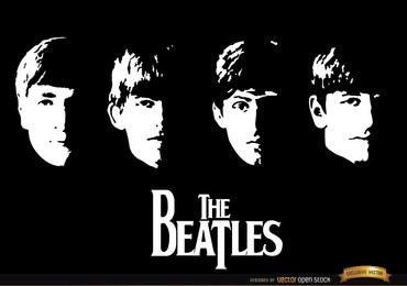 Com The Beatles álbum wallpaper