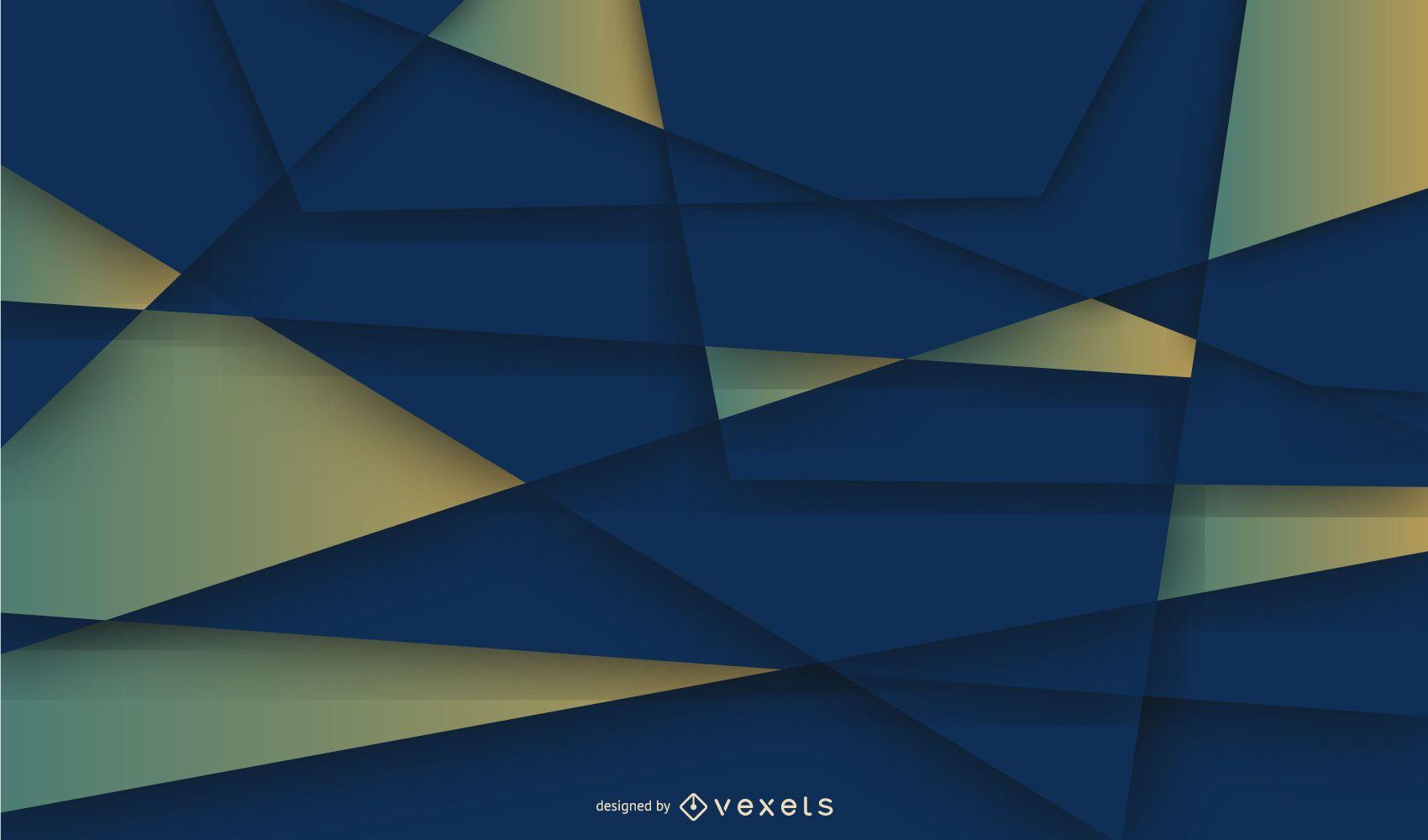 Fondo de mosaico de líneas geométricas creativas