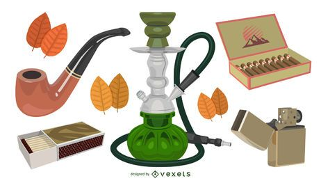Sleek Style Smoking Equipment Set
