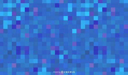 Fondo abstracto azul alta tecnología cuadrados