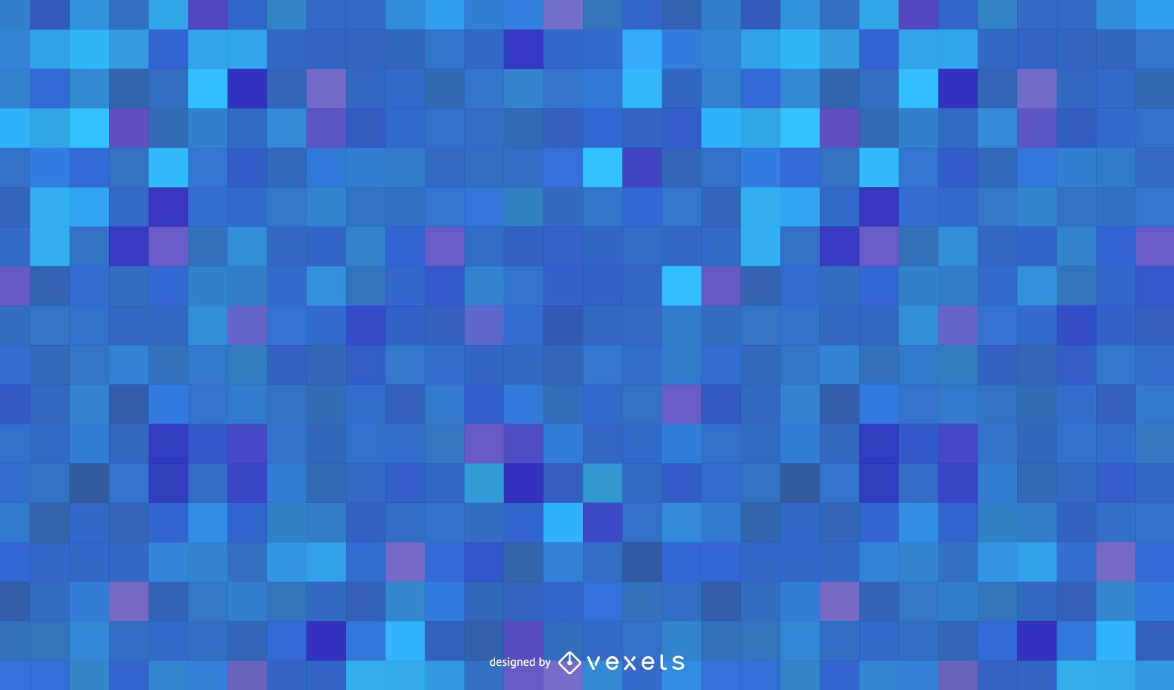 Fondo azul abstracto de cuadrados de alta tecnología