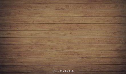 Pranchas de madeira realistas antigas com cortinas