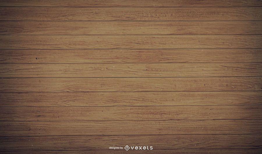 Viejos tablones de madera realistas con sombras