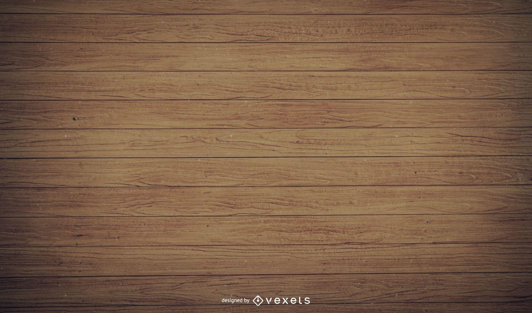 Viejos tablones de madera realistas con cortinas