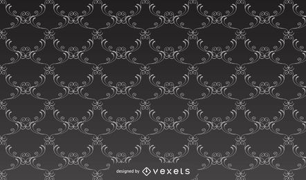 Seamless Ancient Damask Pattern Background