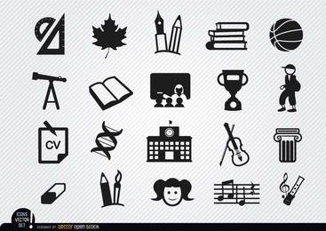 Symbole für Schulelemente festgelegt