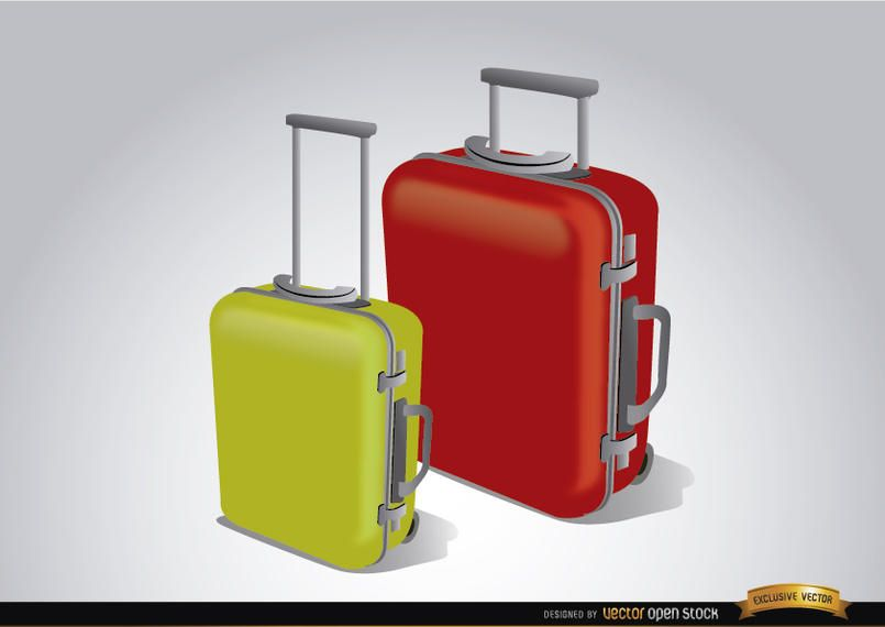 Luggage suitcases to travel