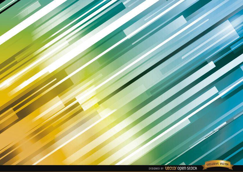 Bright oblique lines background