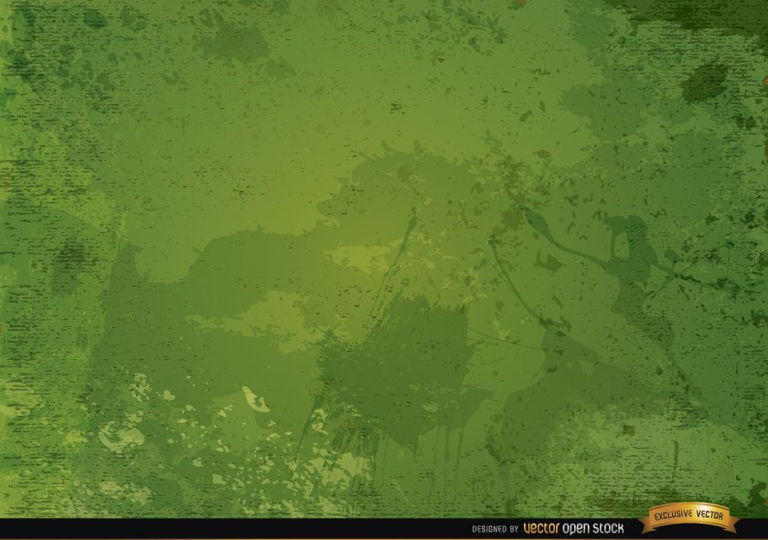 Fondo rústico grunge verde