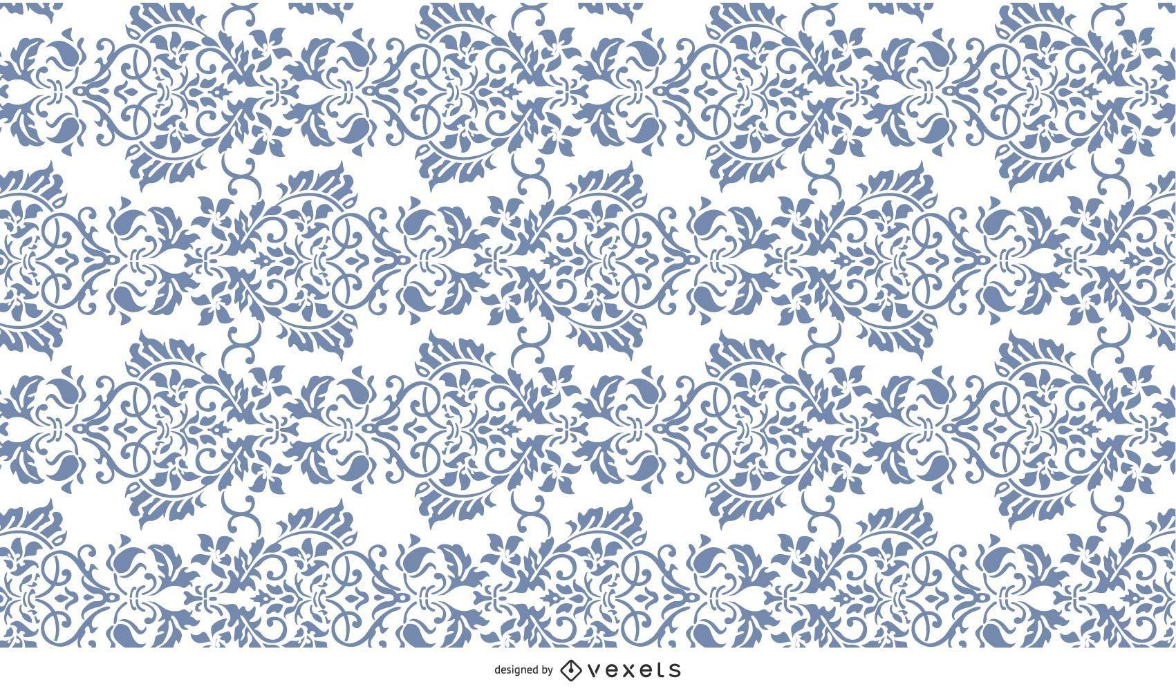 Ornate flower pattern