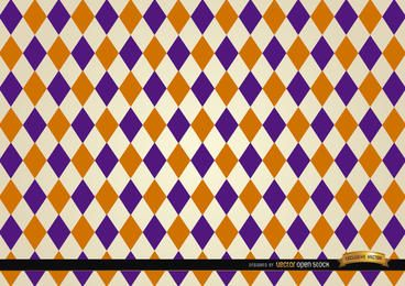 Rhomb pattern background