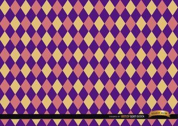 Fondo de patrón de colores de rombo
