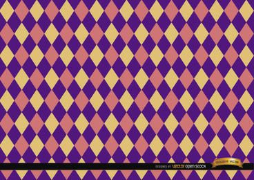 Rhombus patrón de colores de fondo
