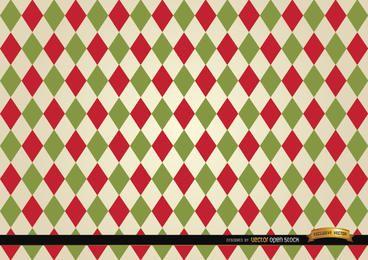Fondo de patrón de color rombo