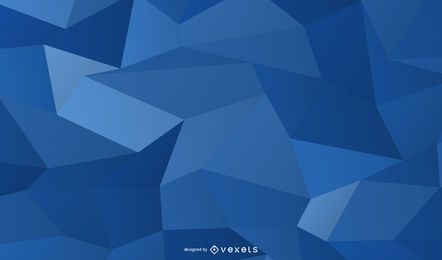 Fondo de cuadrados cristalizados azul brillante