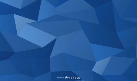 Fundo de quadrados cristalizado azul brilhante