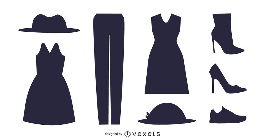 Silhouette Damenmode-Accessoire-Pack