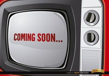Anuncio de televisión antigua