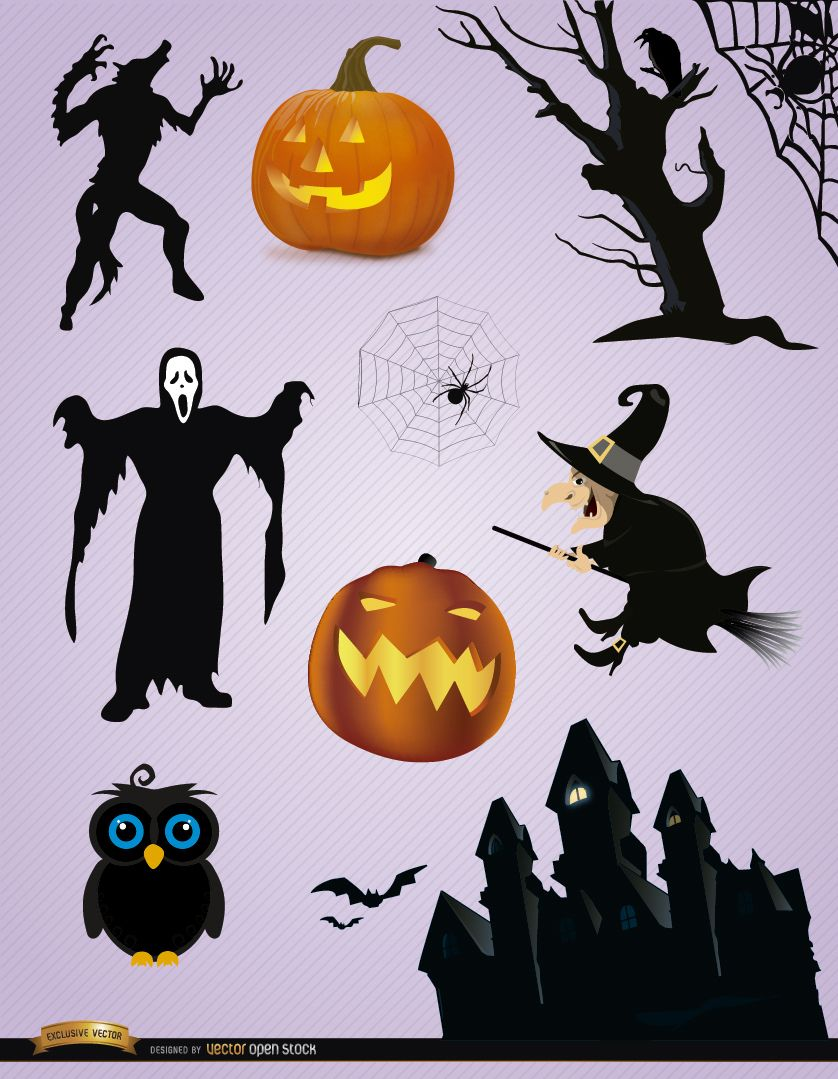 10 Scary Halloween elements