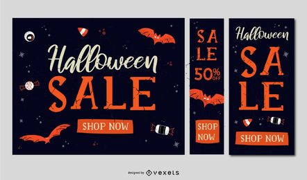 Promoções de venda vintage de Halloween