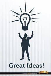 Ideas comerciales para el éxito