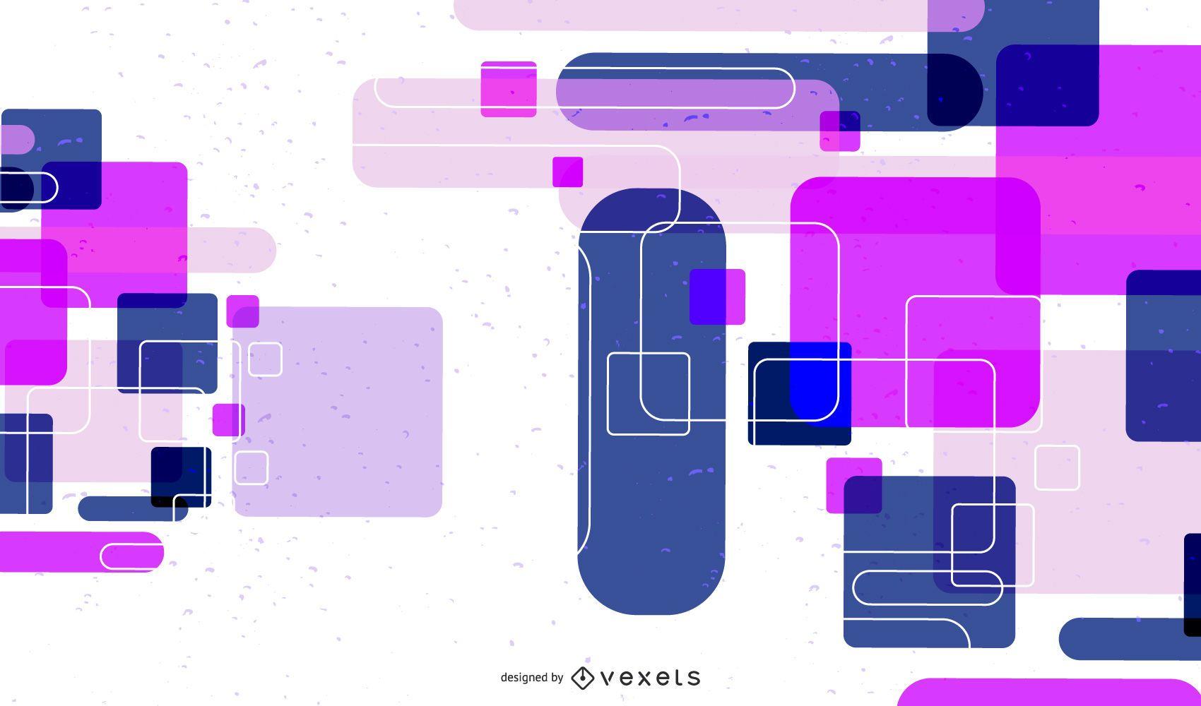 Fondo abstracto colorido brillante futurista