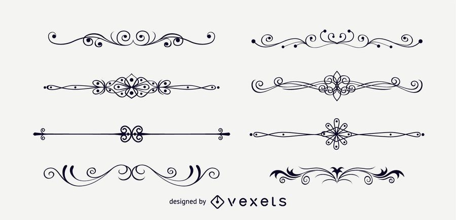 Elegant Page Decoration Ornaments
