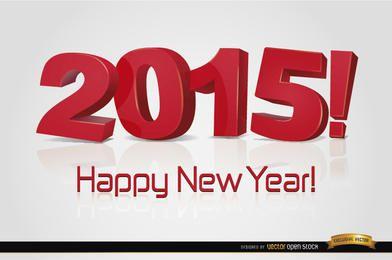 Frohes neues Jahr 2015 Wallpaper